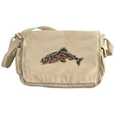 Salmon Messenger Bag
