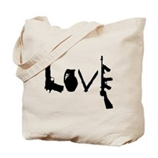 Love Weapons Tote Bag