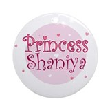 Shaniya Ornament (Round)