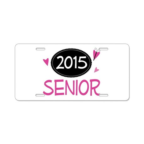 2015 Senior Class Pride Aluminum License Plate