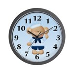Sailor Monkey Wall Clock