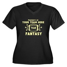 Cafe Your Team Fantasy Football Plus Size T-Shirt