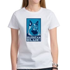 Obey the Russian Blue! Ca T-Shirt