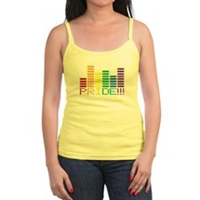 GAY PRIDE RAINBOW SOUND BAR Tank Top
