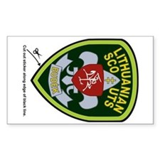 Lithuanian Scouts Car Sticker (Badge)