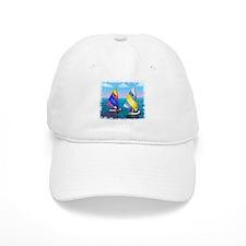 Sunfish Sailboat Baseball Cap