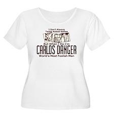 Carlos Danger Plus Size T-Shirt