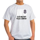 514th MP Company Grey Teeshirt