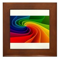 rainbow Framed Tile