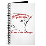 YOU eat in the bathroom! Journal