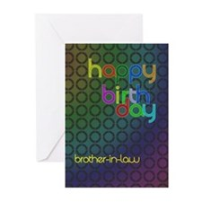 Birthday card for Brother-in-Law Greeting Cards (P