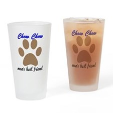 Chow Chow Mans Best Friend Drinking Glass
