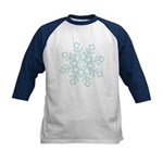 Let It Snow Kids Baseball Jersey