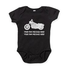 Personalize It, Motorcycle Baby Bodysuit