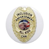 Inclusion Patrol Ornament (Round)