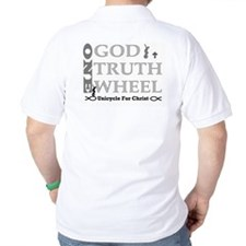 Unicycle for Christ Polo/golf shirt!