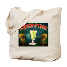 Absinthe Green Fairy Van Gogh Tote Bag