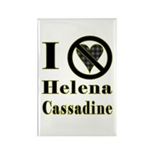 I Hate Helena Cassadine Rectangle Magnet