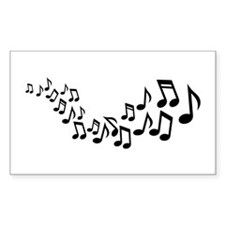 Mixed notes singer Decal