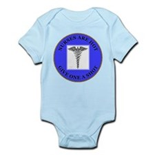 Nurses Are Hot Infant Bodysuit