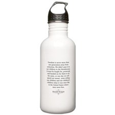 Ronald Reagan Water Bottle