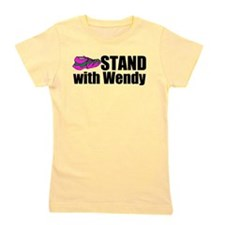 Stand with Wendy Girl's Tee