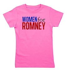 Women for Romney Girl's Tee