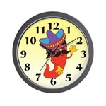 Red Pepper Wall Clock