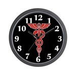 Medical Symbol Wall Clock