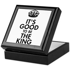 It's Good to Be the King Royal Baby Design Keepsak