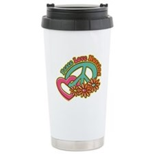 Peace Love Nursing Ceramic Travel Mug