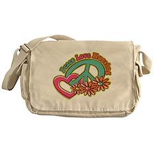 Peace Love Nursing Messenger Bag