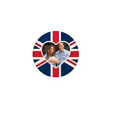 Royal Baby - William Kate Mini Button