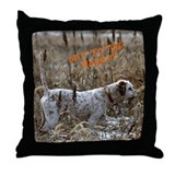 Rusty 'Get to the Point' Throw Pillow