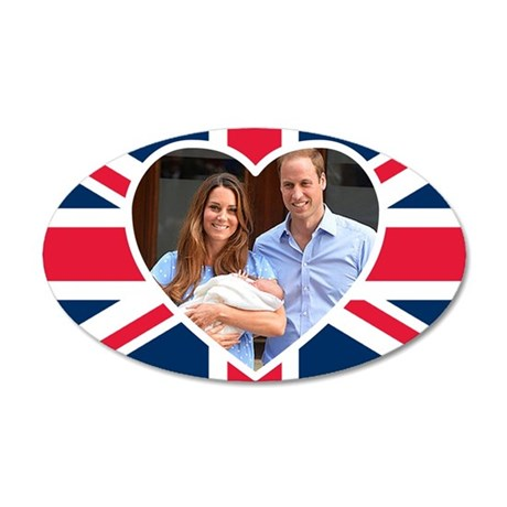 Royal Baby - William Kate Wall Decal