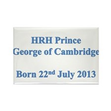 HRH Prince of Cambridge Rectangle Magnet