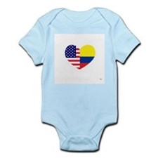 Columbian-American Infant Bodysuit