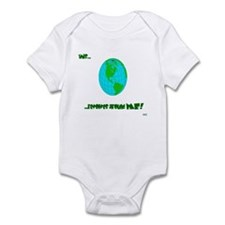 """this revolves around me"" Infant Bodysuit"