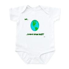 """this revolves around me"" Infant Bodysuit"