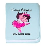 Cute baby girl dance Blanket