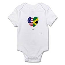 Jamaican-American Infant Bodysuit