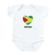 Guyana Desi-babe Infant Bodysuit