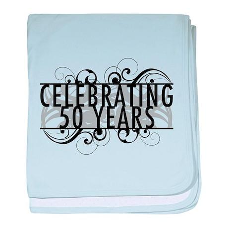 Celebrating 50 Years baby blanket