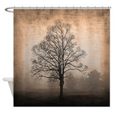 Abandoned Tree Shower Curtain