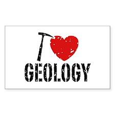 I Love Geology Decal