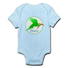 Parakeet Peace Body Suit