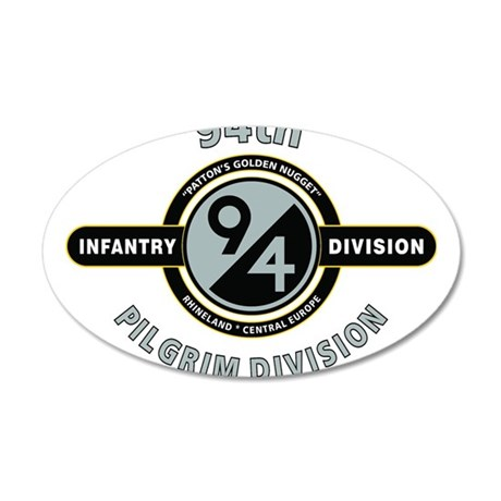 94th Infantry Division Pilgrim Wall Decal