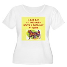 harness racing Plus Size T-Shirt