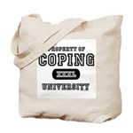 Coping University Tote Bag