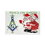 Masonic Peace on Earth Rectangle Magnet (10 pack)